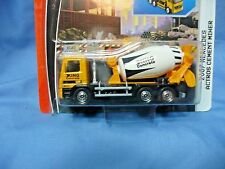 Matchbox  MERCEDES ACTROS CEMENT MIXER Real Working Rigs  1:55