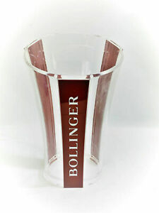 BOLLINGER CHAMPAGNE BUCKET ACRYLIC DESIGNED BY ERIC BERTHES TRICOLOUR BUCKET NEW