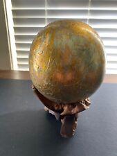 Table Desktop Globe Handmade Decorative World Map Globe