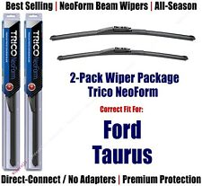 2-Pack Super-Premium NeoForm Wipers fit 2010+ Ford Taurus - 162613/2013