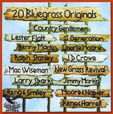 Various Artists - 20 Bluegrass Originals / Various [New CD]