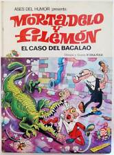 Mortadelo y Filemón. El Caso del Bacalao - F. Ibáñez. Bruguera