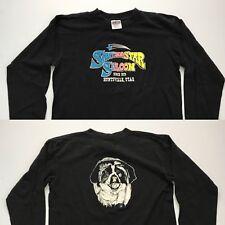 Vintage Shooting Star Saloon Bar Huntsville Utah Long Sleeve T-Shirt Black (M/L)