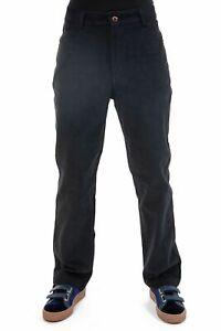 Pantalon velours fines cotes noir Ottarah - Neuf - S au XXXL