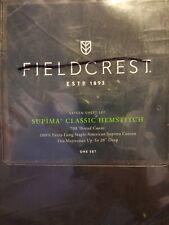 Fieldcrest Supima Full Sheet Set