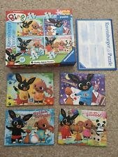 Ravensburger puzzle my first puzzles bing bunny 4 chunky jigsaw puzzle 18 month