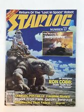 Star log 57 magazine science fiction Collectible Magazine Vintage Lost In Space