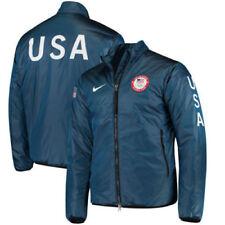 d7e96d3309 Nike Lab Team USA Summit Blue 2018 Olympic Midlayer Jacket Small 916645