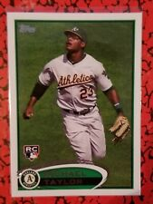 2012 Topps #36 Michael Taylor, Oakland A's RC