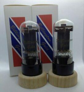 6L6GC Billington Gold Russian matched pair 2 pieces NOS tube valve