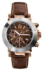 Gc Guess 45003g1 reloj caballero crono acero 100m Swiss Made