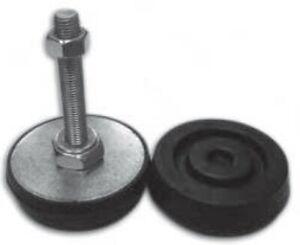 Ball Joint 80 - 2,000 Kg Machine Foot Flexible Rubber Anti Vibration