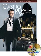 DVD : JAMES BOND : CASINO ROYALE - coffret 2 DVD - Daniel Craig - Eva Green