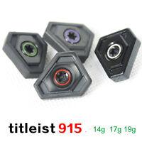 Golf Weight Screw for Titleist 915 D2 D3 Driver 915F Wood 915H UT 915D 19g 23g