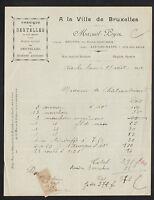 """AIX-les-BAINS & MENTON (73 / 06) USINE de DENTELLES """"MAZUEL & LOYER"""" en 1912"""