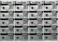 20 PCS ENERGIZER 377 376 WATCH BATTERIES SR626SW SR626W