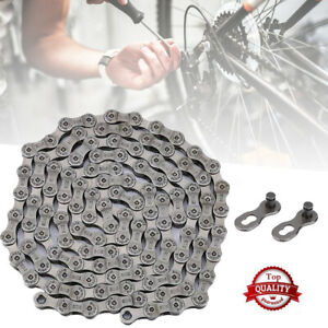 Durable 9 Speed MTB Bicycle Bike Chain for Shimano SRAM Campagnolo 116 Links