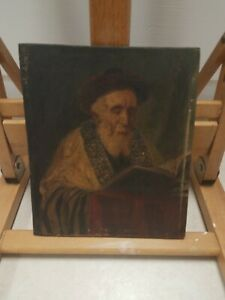 "19th Century Jose Schneider Painting 1848-1993 8""×7"" No Frame"
