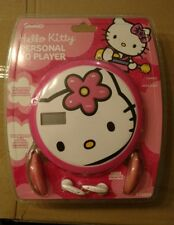 Rare 2005 Hello Kitty CD player new in package 60 second anti skip