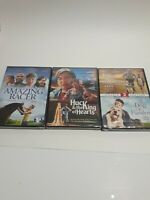 Lot of Four Family Movies Brand New Sealed See Titles Below. 3 dvds = 4 movies