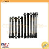 Cylinder Head Bolts For 88-97 Geo Toyota 1.6L 1.8L I4 DOHC Eng Code 4AGE 7AFE
