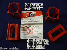 SKATER TRAINER REDS V2.0 SET OF 4 - ENOUGH FOR 1 DECK - NEW