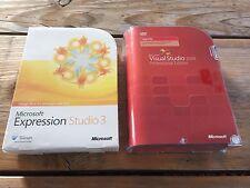 Microsoft Visual Studio 2008 Professional inglese con fattura IVA