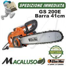 Elettrosega Oleo Mac GS 200 E barra 41 cm 2000 watt efco Oleomac GS200E