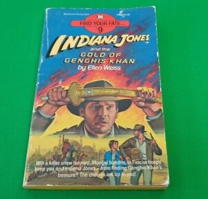 Indiana Jones and the Gold of Genghis Khan ***1st EDITION!!*** Find Your Fate #1