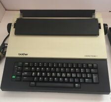 Vintage Brother Compactronic 1 CE-222 - TESTED And Working Need Ribbon.