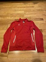 Nike Men's Dri-Fit  Jordan Fleece Red Sz. Small. 💯 Great Condition 💯