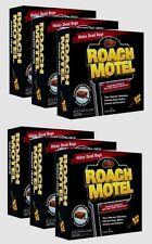 Black Flag ROACH MOTEL Insect Glue Bait Cockroach Bug Spider Pest *6pk* 12 Traps