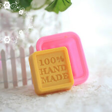100% Hand Made Silicone Soap Mold Chocolate Ice Tray Candle Sugercraft