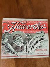 Antique Haworth's Farm Machinery Brochure Hard To Find! 1893-94-95