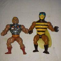 Vintage 1983 Battle Armor He-Man Mattel MOTU Loose waist legs joints + Buzz Off