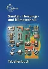 Tabellenbuch Sanitär-, Heizungs- und Klimatechnik von Heinz Hofmeister, Michael Rohlf, Friedhelm Heine, Wigbert Hamschmidt und Michael Helleberg (2016, Taschenbuch)