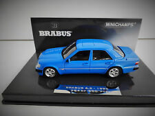 1 43 Minichamps Mercedes Brabus 6.5 500e W124 1993 Blue Ltd. 500