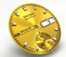 Dial for Vintage  seiko 5 Sport pogue chronograph watch 6139-6000 Speedtimer