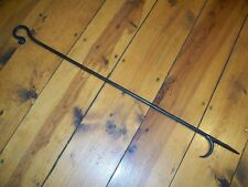"""24"""" IRON FIREPLACE POKER HAND FORGED BY PCBS Glad to do custom work"""