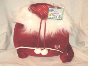 Webkinz holiday carrier for pet nwt
