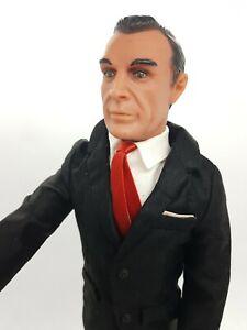 Vintage Gilbert James Bond Doll Figure In Rare Tuxedo Suit Nr Mint Original 007