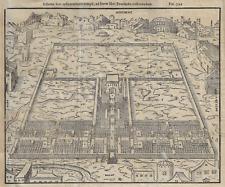 "Antique Map - ""VIEW OF JERUSALEM"" - Copper Engraving  - c1780"