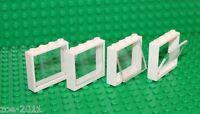 Lego 4x White Window 1x4x3 NEW!!!