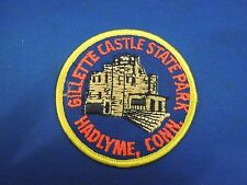 Vintage Gillette Castle State Park Hadlyme, Connecticut  Iron On Patch