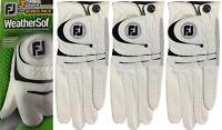 Footjoy FJ Weathersof Golf Glove Super Bonus Pack - 3 GLOVES LH For RH'ed Golfer