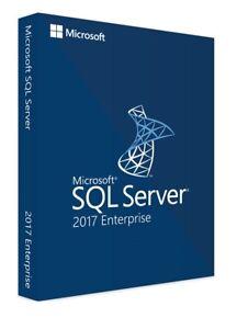 SQL Server 2017 Enterprise Product Key License MS Unlimited CPU Cores Genuine