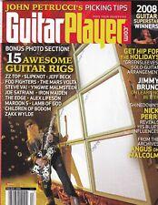 Guitar Player Mag 15 Guitar Rigs ZZ Top Slipknot Holiday 2008 100219nonr