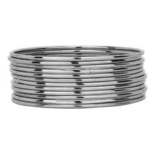 Jwellmart Indian Bollywood Oxidized Silver Look Metal Bangle Set Free Shipping