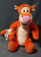 "Disney Winnie the Pooh TIGGER Plush Gund w/ butterfly Stuffed Animal Toy 11"""