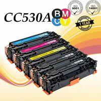 5PK CC530A Toner Set For HP 304A Color LaserJet CP2025DN CM2320NF CM2320FXI MFP